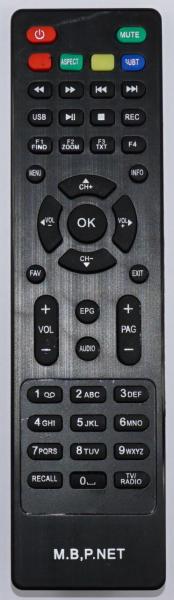 MEGA BOX MG5 Náhradní dálkový ovládač