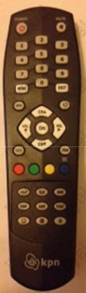 KPN RE-2100T Náhradní dálkový ovládač
