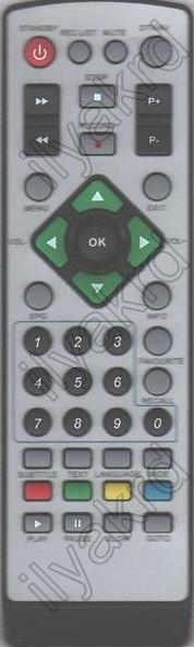 ASDA RC-LEPVR080102 Náhradní dálkový ovládač