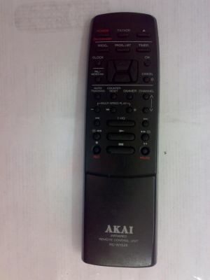 AKAI RC-W152E Náhradní dálkový ovládač