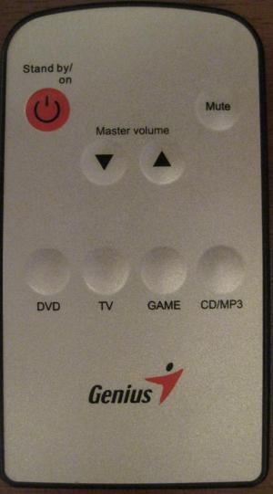 Replacement remote control for Genius 5000 4B1