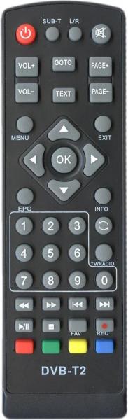 TEL ANT TEL-ANT170B Náhradní dálkový ovládač