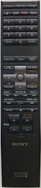 SONY RM-ADP018 Náhradní dálkový ovládač