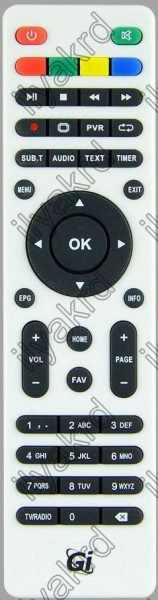 Replacement remote control for Gi FLY T2