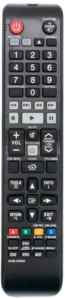 Replacement remote control for Samsung AH59-02550A