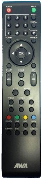 AEG CTV2201 Náhradní dálkový ovládač
