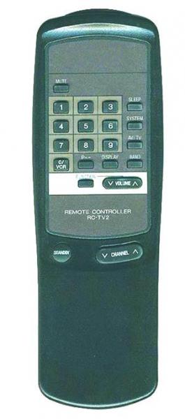AIWA TV-1402KE Náhradní dálkový ovládač