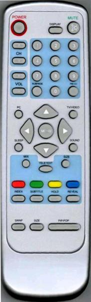 AOC L20W551B Náhradní dálkový ovládač