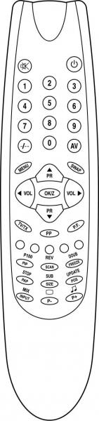 ARGOS 5377329 Náhradní dálkový ovládač