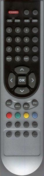 ARCELIK 82LCD TV Náhradní dálkový ovládač