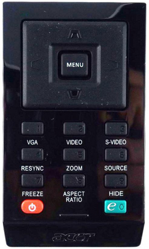 Náhradní dálkový ovladač pro Acer X110