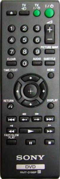 Náhradní dálkový ovladač pro Aiwa XDAX10