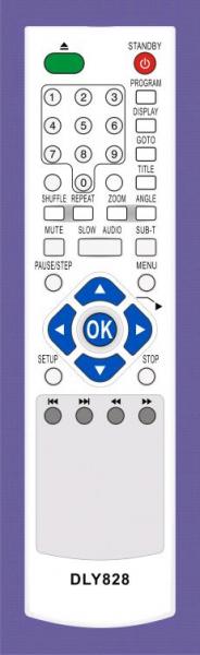 APEX AD1100WRM Náhradní dálkový ovládač