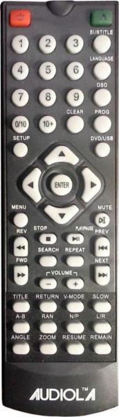 NEVIR NVR2316DVD Náhradní dálkový ovládač