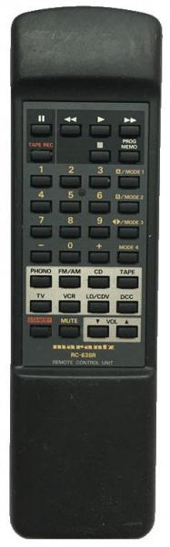 ARCAM DELTA100-AMPLI Náhradní dálkový ovládač