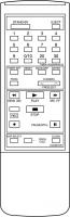 ACCENT HP2000V Náhradní dálkový ovládač