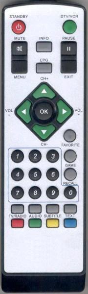 BOSTON DTT4160 Náhradní dálkový ovládač