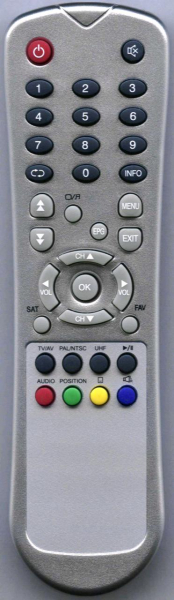 ASTROVOX VSR3000CI Náhradní dálkový ovládač