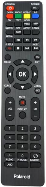 Náhradní dálkový ovladač pro Akai ATE55N4244K