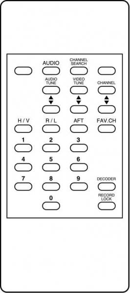 ARCON TITAN-T60 Náhradní dálkový ovládač