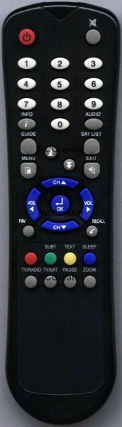 ARCON TITAN1500VTCI Náhradní dálkový ovládač