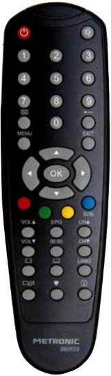 ASTRELL HD-Z2 Náhradní dálkový ovládač