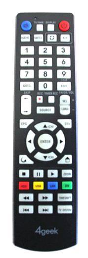 4GEEK DMPR850N Náhradní dálkový ovládač