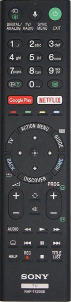 SONY RMT-TX100D Náhradní dálkový ovládač
