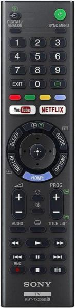 SONY RMT-TX300E Náhradní dálkový ovládač