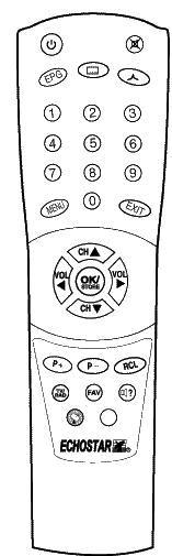 ABCOM DM600 Náhradní dálkový ovládač