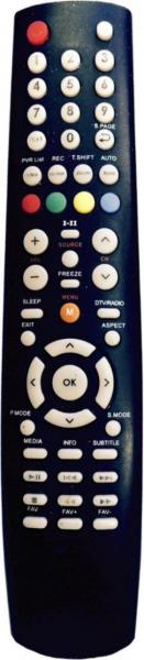 AKAI AKTV324-3D Náhradní dálkový ovládač
