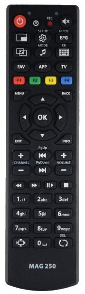 Náhradní dálkový ovladač pro Teletec MAG250