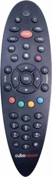 ALICE ALICE IPTV Náhradní dálkový ovládač
