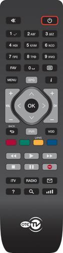 OTE OTE IP TV Náhradní dálkový ovládač