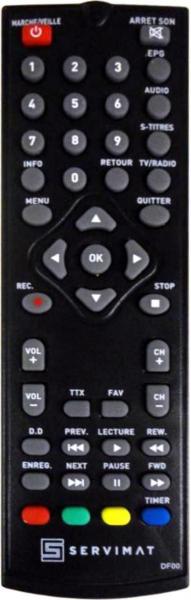 ADB I-CAN500T-REC HD Náhradní dálkový ovládač