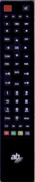ABCOM CRYPTOBOX450HD Náhradní dálkový ovládač