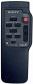 Erstatnings-fjernbetjening til  Sony RMT-708