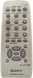 Replacement remote control for Sony RM-SMR1