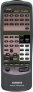 Replacement remote control for Aiwa AV-X100