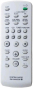 Replacement remote control for Sony MHC-RG333