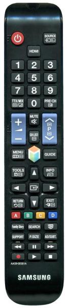Erstatnings-fjernbetjening til  Samsung BN59-01175N