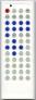 Erstatnings-fjernbetjening til  Axon 5427