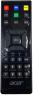 Erstatnings-fjernbetjening til  Acer RC-271RR-190