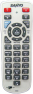 Replacement remote control for Sanyo PLC-ZM5000L