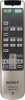 Replacement remote control for Sony RM-PJVW10
