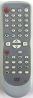 Erstatnings-fjernbetjening til  Philips DVD740VR