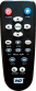 Replacement remote control for Western Digital WDTV LIVE STREAMING