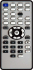 Replacement remote control for Freecom MEDIA PLAYER-450WLAN