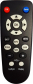 Replacement remote control for Cgv AV-HD2