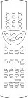 1ONE MINIMAX Erstatnings-fjernstyring